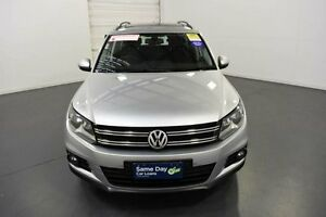 2011 Volkswagen Tiguan 5NC MY12 132 TSI (4x4) Silver 7 Speed Automatic Wagon Moorabbin Kingston Area Preview