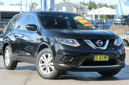 2014 Nissan X-Trail T32 ST X-tronic 2WD Black 7 Speed Constant Variable Wagon Penrith Penrith Area Preview