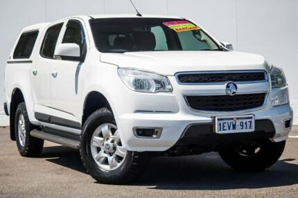 2015 Holden Colorado RG MY15 LT Crew Cab 4x2 White 6 Speed Sports Automatic Utility Maddington Gosnells Area Preview