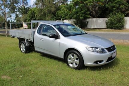 2009 Ford Falcon FG Super Cab Silver 5 Speed Automatic Cab Chassis Ormeau Gold Coast North Preview
