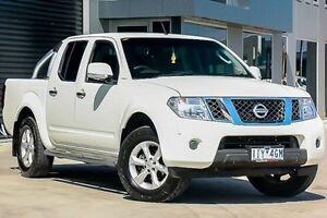 2012 Nissan Navara D40 S6 MY12 ST White 6 Speed Manual Utility Pakenham Cardinia Area Preview