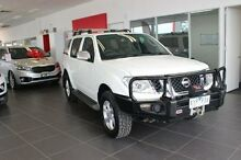 2010 Nissan Pathfinder R51 MY08 TI White 5 Speed Sports Automatic Wagon Dandenong Greater Dandenong Preview