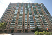 1+1 Condo at 155 Hillcrest Ave + 1 Parking+Locker - Very Clean