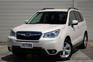 2013 Subaru Forester S4 MY13 2.5i-L Lineartronic AWD White 6 Speed Constant Variable Wagon Seaford Frankston Area Preview