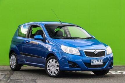 2008 Holden Barina TK MY08 Blue 5 Speed Manual Hatchback Ringwood East Maroondah Area Preview