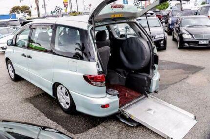 2003 Toyota Tarago ACR30R Ultima Green Automatic Wagon