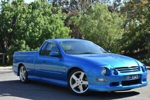 2002 Ford Falcon AU III XR8 Pursuit 250 Ute Super Cab Blue 5 Speed Manual Utility St Marys Mitcham Area Preview