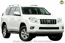 2013 Toyota Landcruiser Prado KDJ150R GXL White 5 Speed Sports Automatic Wagon Mindarie Wanneroo Area Preview