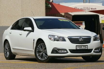 2015 Holden Calais VF II White 6 Speed Automatic Sedan Wolli Creek Rockdale Area Preview