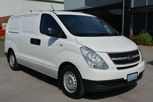 2012 Hyundai iLOAD TQ White 5 Speed Automatic Van Welshpool Canning Area Preview