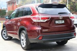 2014 Toyota Kluger GSU50R GXL 2WD Moulan Rouge 6 Speed Sports Automatic Wagon