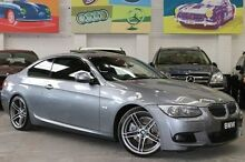 2011 BMW 330D E92 MY11 Steptronic Grey 6 Speed Sports Automatic Coupe Southbank Melbourne City Preview