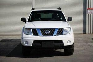 2011 Nissan Navara D40 MY11 RX White 6 Speed Manual Utility Seaford Frankston Area Preview