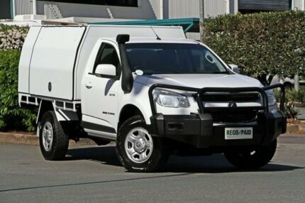 2013 Holden Colorado RG MY14 LX Summit White 6 Speed Manual Cab Chassis