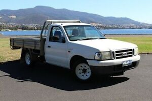 2004 Ford Courier PH GL White 5 Speed Manual Utility Invermay Launceston Area Preview