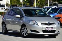 2009 Toyota Corolla ZRE152R Ascent Silver 4 Speed Automatic Hatchback Toowong Brisbane North West Preview