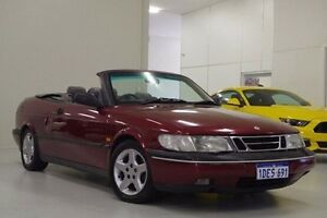 1995 Saab 900 S Red 4 Speed Automatic Cabriolet Myaree Melville Area Preview
