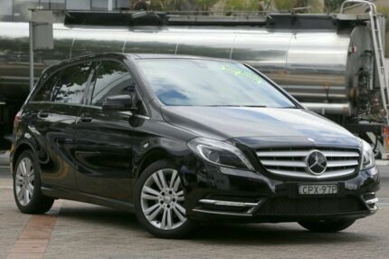 2012 Mercedes-Benz B200 246 MY13 BE Black 7 Speed Auto Direct Shift Hatchback