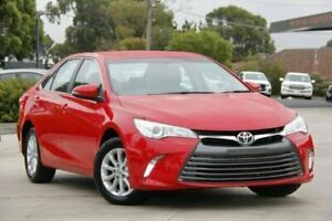 2017 Toyota Camry Red Sports Automatic Sedan