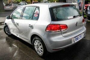 2011 Volkswagen Golf 1K MY11 90 TSI Trendline Silver 7 Speed Auto Direct Shift Hatchback