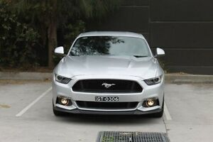 2015 Ford Mustang FM GT Fastback Silver 6 Speed Manual Fastback Wolli Creek Rockdale Area Preview