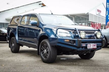 2012 Holden Colorado RG MY13 LT Crew Cab Green 5 Speed Manual Utility