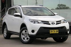 2014 Toyota RAV4 ASA44R MY14 Upgrade GX (4x4) White 6 Speed Automatic Wagon Old Guildford Fairfield Area Preview