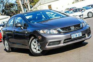 2015 Honda Civic 9th Gen Ser II MY15 VTi Grey 5 Speed Sports Automatic Sedan Bayswater Bayswater Area Preview