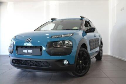 2018 Citroen C4 Cactus E3 MY18 Exclusive Blue 6 Speed Sports Automatic Wagon Gateshead Lake Macquarie Area Preview