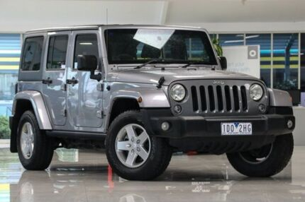 2014 Jeep Wrangler JK MY2014 Freedom Silver 6 Speed Manual Softtop