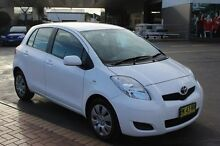 2011 Toyota Yaris NCP91R 10 Upgrade YRS White 4 Speed Automatic Hatchback South Maitland Maitland Area Preview