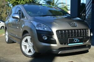 2013 Peugeot 3008 T8 MY13 Allure SUV Gold 6 Speed Sports Automatic Hatchback Ashmore Gold Coast City Preview