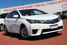 2014 Toyota Corolla ZRE172R Ascent S-CVT White 7 Speed Constant Variable Sedan Balcatta Stirling Area Preview