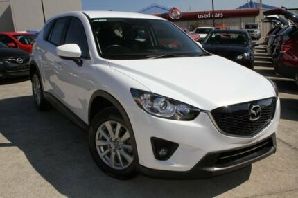 2014 Mazda CX-5 KE1071 MY14 Maxx SKYACTIV-Drive Sport White 6 Speed Sports Automatic Wagon