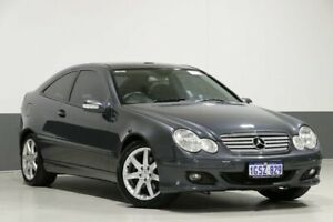2006 Mercedes-Benz C230 CL203 MY06 Evolution Grey 5 Speed Auto Tipshift Coupe