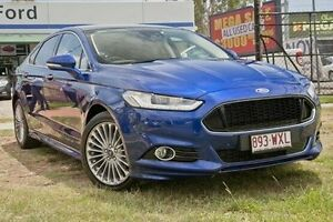 2015 Ford Mondeo MD Titanium Deep Impact Blue Automatic Hatchback Capalaba West Brisbane South East Preview