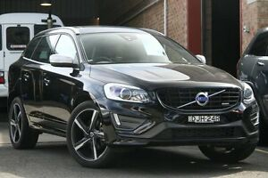 2015 Volvo XC60 DZ MY15 T6 R-Design Black Sapphire 6 Speed Automatic Geartronic Wagon Mosman Mosman Area Preview