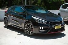 2014 Kia Pro_ceed JD MY14 GT Black 6 Speed Manual Hatchback Meadowbank Ryde Area Preview