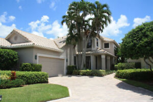 Superbe villa dans Gated Community Boca Raton, À VENDRE