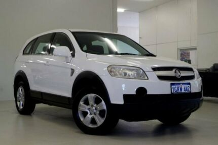 2007 Holden Captiva CG SX AWD White 5 Speed Sports Automatic Wagon Myaree Melville Area Preview