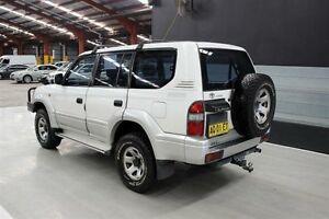 1998 Toyota Landcruiser Prado VZJ95R GXL White 5 Speed Manual Wagon Maryville Newcastle Area Preview