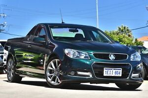 2013 Holden Ute VF SS-V Green 6 Speed Automatic Utility Victoria Park Victoria Park Area Preview