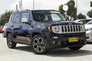 2015 Jeep Renegade BU MY15 Limited DDCT Black 6 Speed Sports Automatic Dual Clutch Hatchback