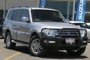 2014 Mitsubishi Pajero NX MY15 GLS Silver 5 Speed Sports Automatic Wagon Nundah Brisbane North East Preview