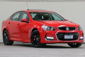 2016 Holden Commodore Red Manual Sedan Vermont Whitehorse Area Preview