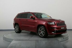 2012 Jeep Grand Cherokee WK MY2012 SRT-8 Red 5 Speed Sports Automatic Wagon Old Guildford Fairfield Area Preview