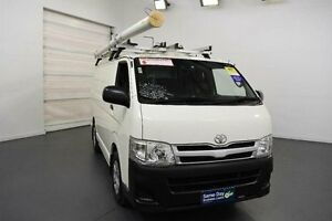 2011 Toyota Hiace KDH201R MY11 Upgrade LWB White Solid 5 Speed Manual Van Moorabbin Kingston Area Preview