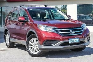 2013 Honda CR-V RM VTi 4WD Red 5 Speed Automatic Wagon Bayswater Bayswater Area Preview