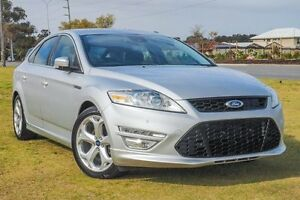 2011 Ford Mondeo MC Titanium PwrShift TDCi Silver 6 Speed Sports Automatic Dual Clutch Hatchback Wangara Wanneroo Area Preview