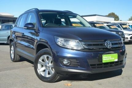 2014 Volkswagen Tiguan 5N MY14 103TDI DSG 4MOTION Pacific Blue 7 Speed Sports Automatic Dual Clutch Hillcrest Port Adelaide Area Preview
